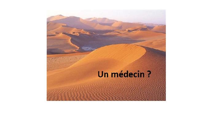 Déserts médicaux